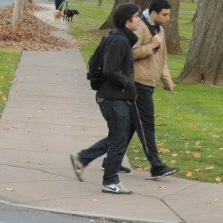 college buddies walking together-students commits suicide