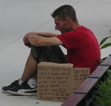 homeless young man chicago- why commit suicide